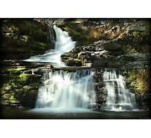Factory Falls Autumn Glimmer Photographic Print