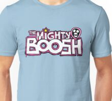 The Mighty Boosh – Dripping Pink Writing & Mask Unisex T-Shirt