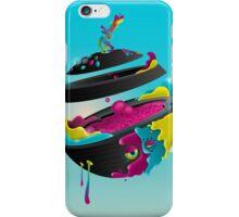 CMYK Planet - Cyan iPhone Case/Skin
