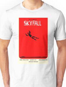 Saul Bass inspired Skyfall poster  Unisex T-Shirt