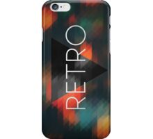 Hipster Retro Triangles Mosaic. iPhone Case/Skin