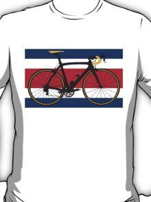 Bike Flag Costa Rica (Big - Highlight) T-Shirt