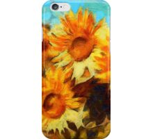 Sunflowers Van Gogh Style iPhone Case/Skin