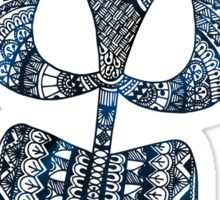 Shiva's Trident Sticker