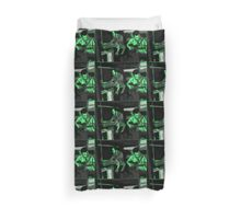 Boyz in the Shed Duvet Cover