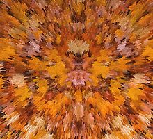 Autumn leaves in extrude by Robert Gipson
