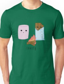 toasty (lil marshmallow + chocolate pals) Unisex T-Shirt