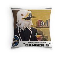 "Danger 5 Lobby Card #2 - ""Bangkok Sunrise"" Throw Pillow"