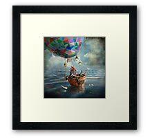 """""""Balloonist"""" Framed Print"""