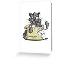 Schrödinger Cat Greeting Card
