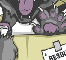 Schrödinger Cat Sticker