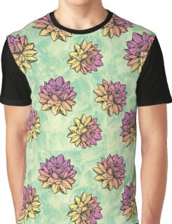 Lotus Flowers Graphic T-Shirt
