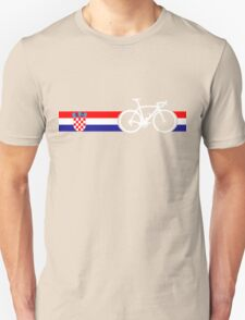 Bike Stripes Croatia Unisex T-Shirt