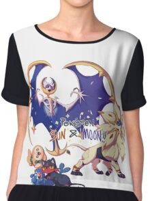 Pokemon Sun and Moon Chiffon Top