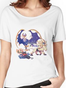 Pokemon Sun and Moon Women's Relaxed Fit T-Shirt