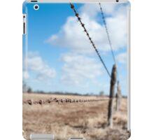 Run The Wire iPad Case/Skin