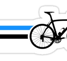 Bike Stripes Estonia v2 Sticker