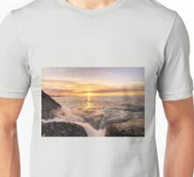 Golden hour, Thyrrenian Sea Unisex T-Shirt