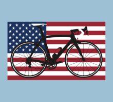 Bike Flag USA (Big - Highlight) by sher00