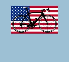 Bike Flag USA (Big - Highlight) Unisex T-Shirt