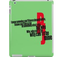 PJ Black iPad Case/Skin
