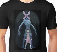 stranger things eleven and monster Unisex T-Shirt