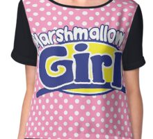 Marshmallow Girl - Peep ver. Chiffon Top
