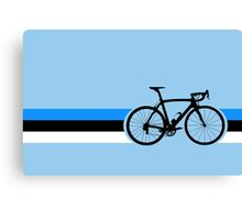Bike Stripes Estonia Canvas Print