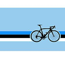 Bike Stripes Estonia Photographic Print