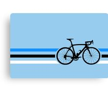 Bike Stripes Estonia v2 Canvas Print