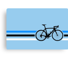 Bike Stripes Estonia v2 Canvas Print