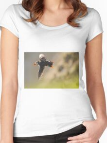 Flying Shetlands Puffin Women's Fitted Scoop T-Shirt