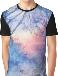 Winter evening Graphic T-Shirt