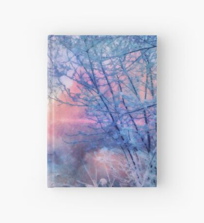 Winter evening Hardcover Journal