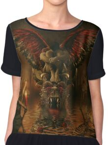 Angel of death Chiffon Top