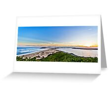 NEWCASTLE From Nobbys Lighthouse Greeting Card