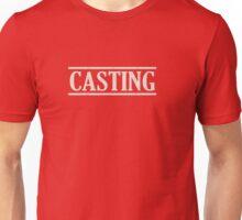 Casting (white) Unisex T-Shirt