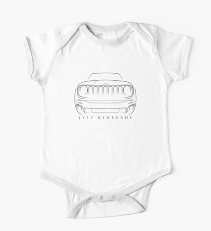 Jeep Renegade - Stencil One Piece - Short Sleeve