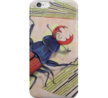 The measurement of space / stag-beetle iPhone Case/Skin