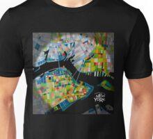 Imaginary map of New York Unisex T-Shirt