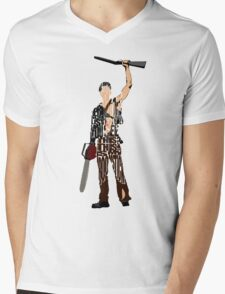 Ash - The Evil Dead Mens V-Neck T-Shirt