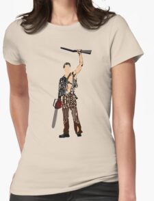 Ash - The Evil Dead Womens Fitted T-Shirt