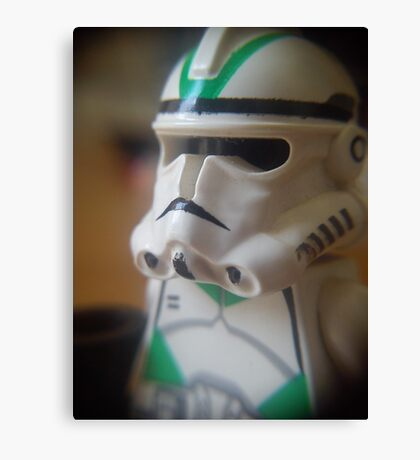 Seige Battalion Clone trooper Canvas Print