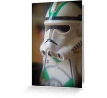 Seige Battalion Clone trooper Greeting Card