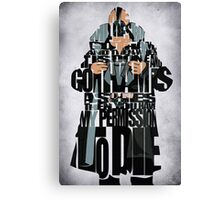 Bane - The Dark Knight Canvas Print