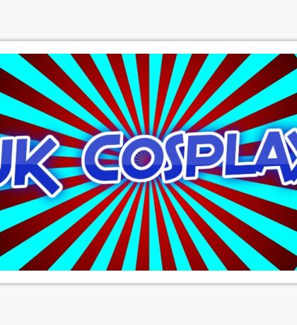 Uk cosplay community Sticker
