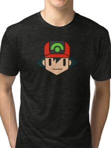 Ash Ketchem Hoenn Icon Tri-blend T-Shirt