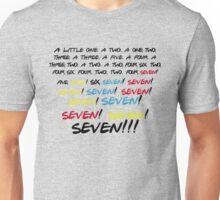 Friends - Seven!  Unisex T-Shirt