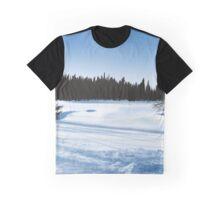 Winter Lanscape Graphic T-Shirt