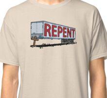 Repent Cross Trailer Classic T-Shirt